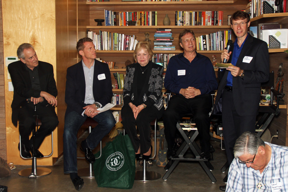 LA Event - The panel consisted of Harry Lederman, Paddy Spence, Sandy Gooch, Russell Parker and Joe