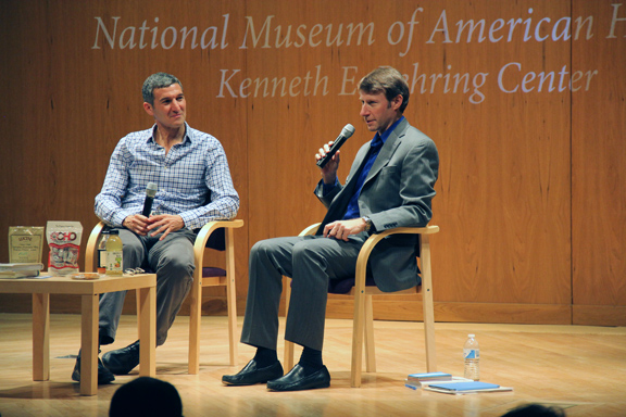 Smithsonian Event - Seth Goldman and Joe covered a wide range of topics