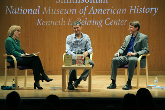 Smithsonian Event: Paula Johnson moderated the panel with Seth Goldman of Honest Tea and Joe